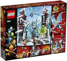 Amazon.com: LEGO NINJAGO Castle of the Forsaken Emperor 70678 Building Kit  (1,218 Pieces): Toys & Games
