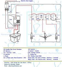 ups & inverter wiring diagram for one room office Inverter House Wiring Diagram Inverter House Wiring Diagram #2 inverter house wiring diagram
