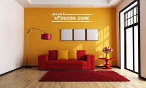orange wall paint6 Popular paint colors for a single wall in the room