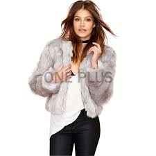 winter clothing whole hot faux rabbit fur fabric jacket women fake short rabbit fur coat