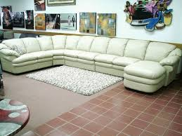 Extra Long Sofa Lovely Natuzzi Editions A845 Anzio Sectional With Chaise  Photo