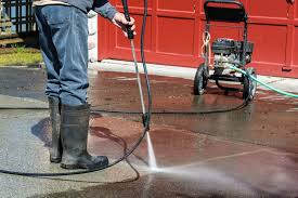 how to fix standing water on patio the