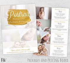 Photography Pricing Template Photography Pricing Template Price Sheet Photography Price List
