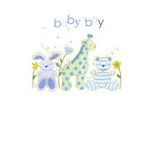 Card For Baby Boy Baby Boy Greeting Card New Baby Card By Hammond Gower
