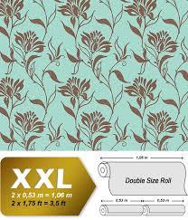 Neo Behang Met Luxe Reliëfstructuur Edem 939 37 Vliesbehang Blauw
