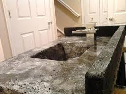 concrete series 8 molds removed top surface is exposed quikrete countertop mix