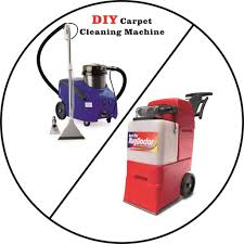 thinking of using a diy supermarket carpet cleaning machine