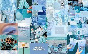 Blue Aesthetic Honey Laptop Wallpaper ...