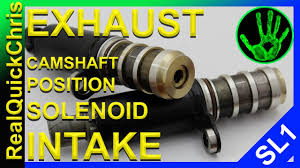 how to replace an exhaust and or intake camshaft position solenoid premium