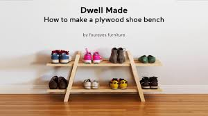 modern mailbox dwell. Modern Mailbox Dwell. Diy Plywood Shoe Bench | A Dwell Made Project  W