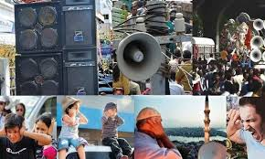 Noise pollution above permissible limits in city