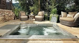 inground hot tub kit custom stainless steel hot tub with multi jet package and bench seating inground hot tub kit