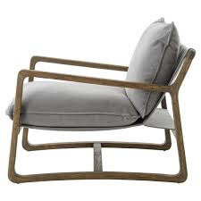 Living Room Arm Chairs Antonia Rustic Lodge Grey Pillow Brown Wood Living Room Arm Chair