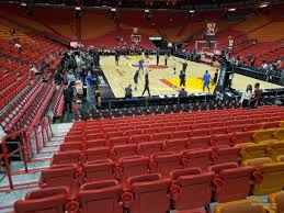 Americanairlines Arena Section 101 Miami Heat