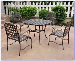 antique wrought iron patio table and chairs antique rod iron patio