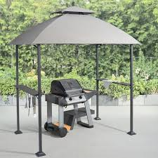 Mainstays Ledger 5 X 8 Outdoor Grill Gazebo With Canopy Top Walmart Com Walmart Com