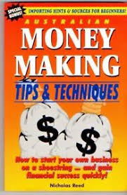 Details About Australian Money Making Tips Techniques Nicholas Reed