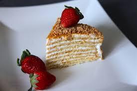 15 Layer Russian Honey Cake Medovik Tort Album on Imgur