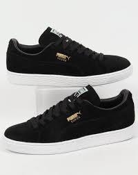 puma shoes suede black. puma suede classic black white shoes