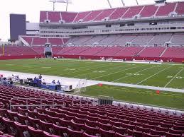 Ed Sheeran Tampa Seating Chart Raymond James Stadium View From Lower Level 138 Vivid Seats