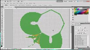 How To Make A Pixel Art Template For Minecraft Tutorial Youtube
