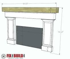 build fireplace how to build a fireplace mantel fireplace surround and mantel make fireplace mantel shelf