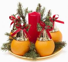 the office christmas ornament. Christmas Gift Ideas For The Office - Decoration With Oranges Ornament