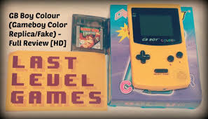 Gb Boy Yellow Fake Gameboy Color Full Review Gameplay Hd