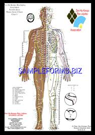 Pressure Point Chart Templates Samples Forms