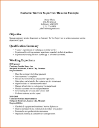 Resume Examples For Customer Service Jobs Free Resume Examples 2017