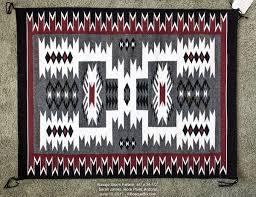 Bosque Bills Backroads Crownpoint Navajo Rug Auction June 2017