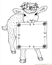 Small Picture Sheep Coloring Page 12 Coloring Page Free Sheep Coloring Pages