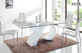 glass dining room table and chairs modern dining room sets also modern glass dining table set