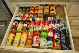 Kitchen Spice Organization Organizer Rolling Spice Rack Spice Drawer Organizer In Drawer