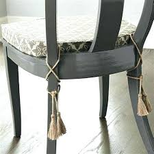 chair cushions with ties. Indoor Chair Pads With Ties Designer Tie On Dining Cushions Now .
