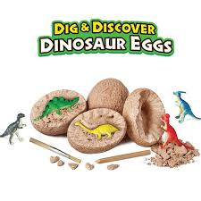 1PCS DIY Dinosaur Egg Toys <b>Novelty</b> Digging Fossils Excavation ...