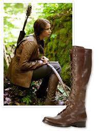 found it katniss everdeen s brown boots from the hunger games  found it katniss everdeen s brown boots from the hunger games