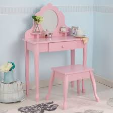 Latest Dressing Table Designs For Bedroom Endearing Pink Dressing Table Mirror With Wavy Mirror Frame