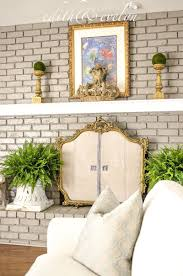 diy your own fireplace screen view in gallery