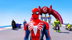 phim hoạt hình siêu nhân đua tốc độ - siêu nhân nhện đua xe ô tô ...