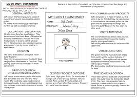 Client Profile Template Client Customer Profile Sheet