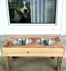 dog dish stand rustic dog bowls bowl stand best elevated food dishes images on supplies wood dog dish stand