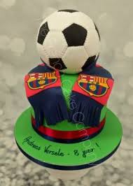 Football Birthday Cake The French Cake Company