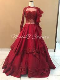 Designer Gowns For Indian Wedding Mischb Couture Bridal Gown Indian Gowns Dresses Indian