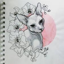 21 карточка в коллекции эскизы татуировок с животными в стиле