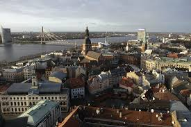 The capital city of Latvia  Riga  has an average Internet speed that is at least two and a half times that of San Antonio  Credit Valda Kalnina European     The New York Times