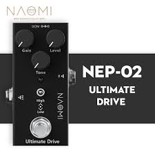 <b>NAOMI Ultimate Drive</b> Electric Guitar Mini Effect Pedal Single True ...