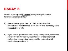 paragraph essay prompt 5 paragraph essay prompt