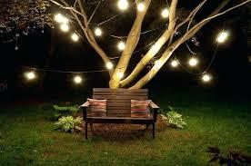 garden lights string bulbs outdoor patio lights string led