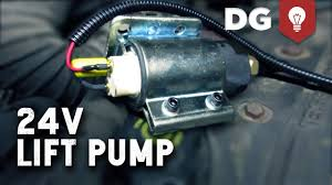 how to upgrade a cummins 24v lift pump how to upgrade a cummins 24v lift pump